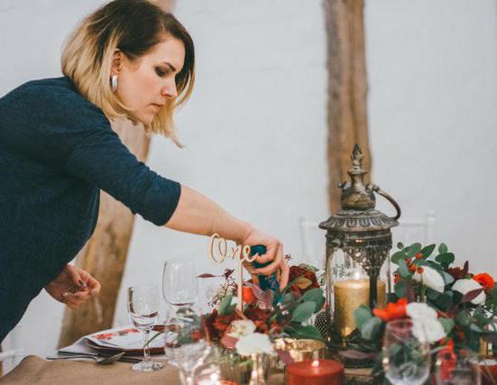 Oxana Weimer - Schöne Deko - Hochzeitsdekoration