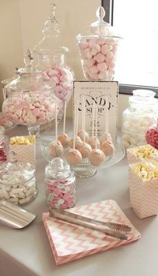 Candybar modern in pink
