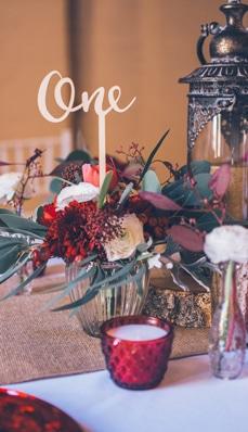 Hochzeitsdeko Rustikal Boho