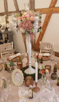 Rustic Vintage Hochzeitsdeko